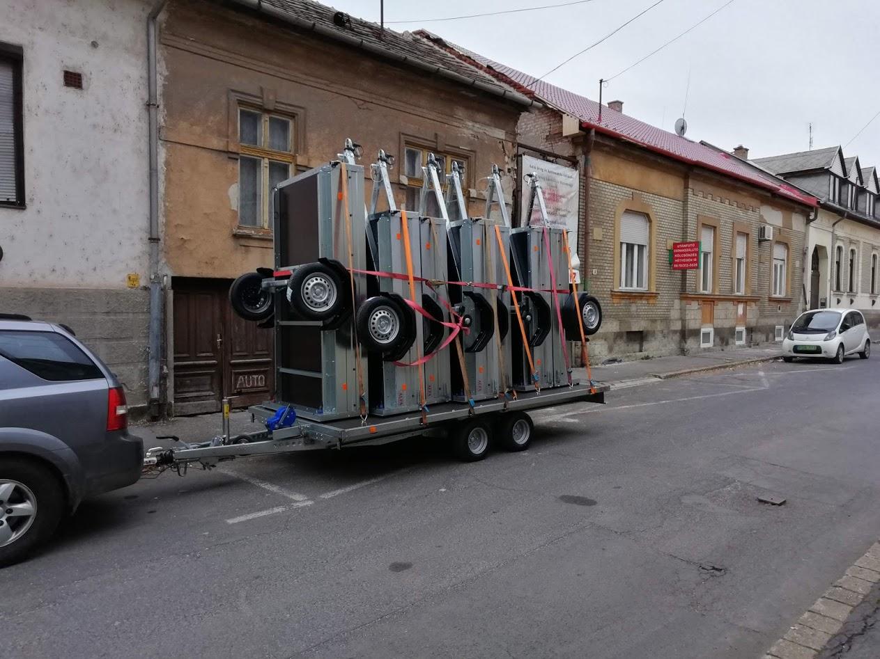 Utánfutócentrum Miskolc